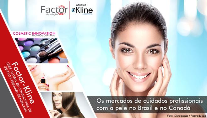 41b0c75a54094 Os mercados de cuidados profissionais com a pele no Brasil e no Canadá  podem ser considerados pequenos apenas quando comparados com os mesmos  mercados nos ...