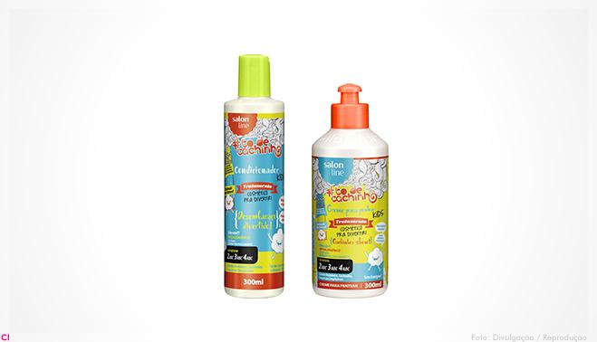 A Salon Line, empresa especializada no tratamento de cabelos crespos e  cacheados, apresenta a linha Tratamento Pra Divertir. Segundo a marca,  desenvolvida ... 21f8d852fd