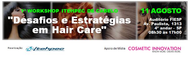 1º WORKSHOP ITEHPEC DE CABELO