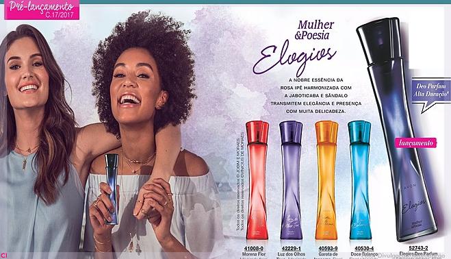 ae556a095 Avon lança nova fragrância Mulher   Poesia Elogios