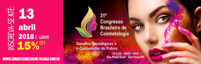 31º Congresso Brasileiro de Cosmetologia