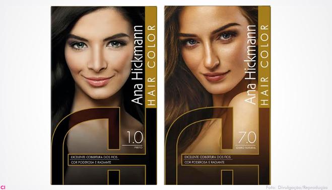 Embalagem traduz feminilidade, qualidade e tecnologia do produto Recente no  mercado de cosméticos capilares, Ana Hickmann Hair é a primeira marca de ... efb0ce6359