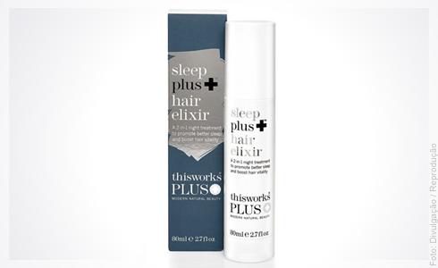 5e932cbd52 O This Works Modern Natural Beauty Sleep Plus+ Hair Elixir é um produto de  tratamento capilar 2 em 1: ele promete um melhor sono e aumentar a  vitalidade dos ...